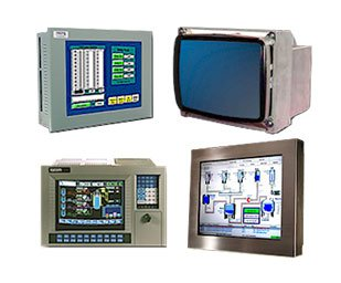 Industrial HMI, Displays & Monitors